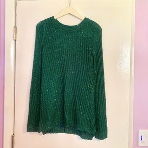 Apt. 9 Sparkling Green Sweater💚💫
